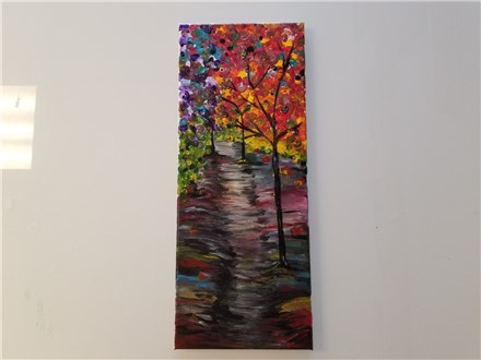REPEAT Autumn Path Canvas Class $35 (Adult)