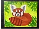 Kids Class: Red Panda Canvas