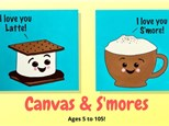 Canvas & S'mores - March 8th