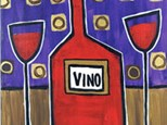 Vino Canvas Class: Date Night - Saturday, Nov 18 - Two Painters for $38
