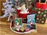 Reindeer Christmas Tree Bucket - Rocky Mountain Chocolate Reindeer Apple Included!
