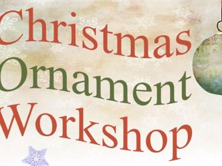 Kids Ornamnet Workshop - Nov. 22nd AM