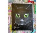 Black Cat Paint Class - WR