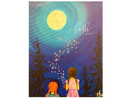 Practical Magic Inspired Paint Class