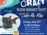 Kids Night Out - July 2018 - Friday, July 27th 6:30-8:30pm