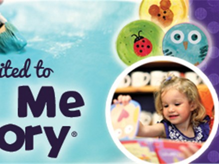 Mommy or Daddy & Me Story Time - First Saturday of the Month @ 10am