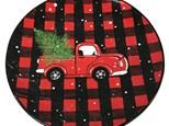 Holiday Plaid Truck Plate - November 16th