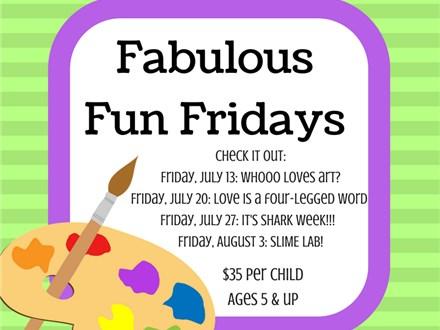Fabulous Friday Fun