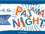 Pajama Night and Bingo at Color Me Mine Elk Grove! March 19th. 6pm-8pm