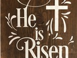 Board Art - He is Risen - Morning Session - 04.19.19