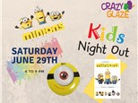 Ticket for Crazy Glaze Studio's Kids Night Out June 29th