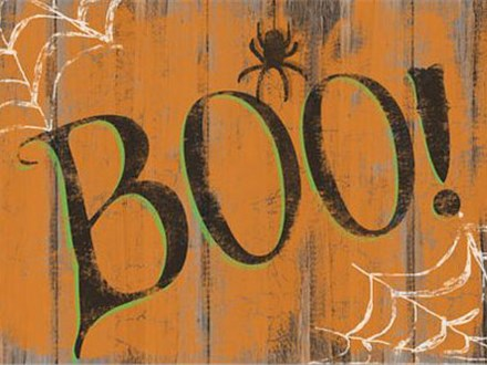 Fall Workshop: BOO! Board - October 19th, 2017