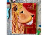 Harry Potter Inspired Lion Paint Class - WR