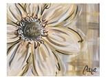 Khaki Flower Paint Class