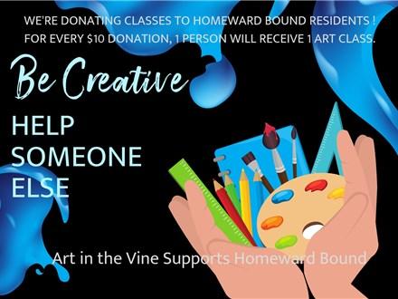 Homeward Bound Class Donation