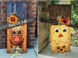 Scarecrow Wood Board Class