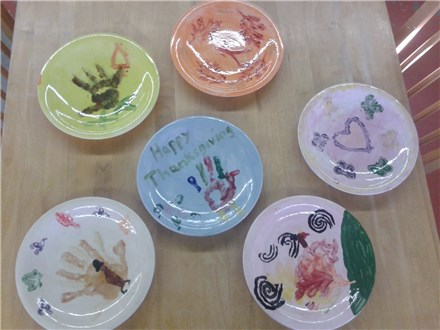 St. Cloud Community Ed- Family Class-Thanksgiving Plate