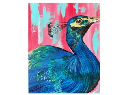 Peacock Paint Class - WR