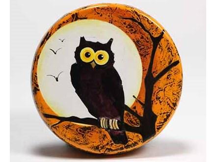 'Halloween Owl' - Workshop! Saturday, October 19th @ 2:00pm