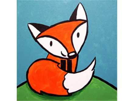 Friendly Fox Painting Party