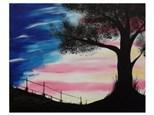 Patriotic Sky - Paint & Sip - July 22