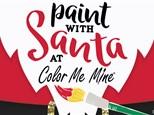 Paint with Santa - Sunday, December 2, 2018 @ 10:30am
