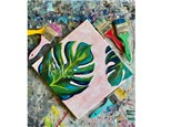 Monstera Paint Class - Perry