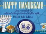 Hanukkah Painting- November 29th