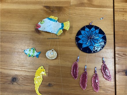 Kid's Clay Wind Chime Class