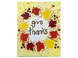 Give Thanks Kids Canvas - 11/10