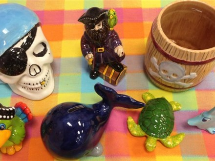 These are some examples of Pirate and Swashbucklers items we have carried at Practically Pikasso.