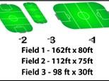 Field Rental - Field #1 (162ft x 80ft)