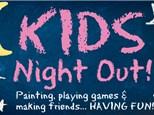 Kids Night Out - Back to School Desk Set - September 21st