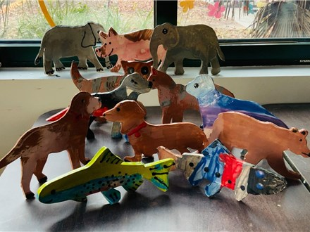 Kids Art Club Clay Stand Up Animals