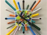 Make a Fused Glass Clock - Wed. May 12, 2021 6:30 - 9 pm