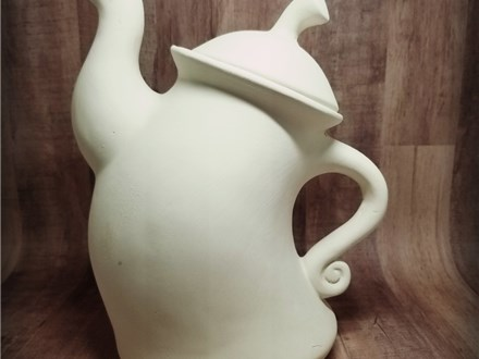 Whimsy Teapot - Ready to Paint