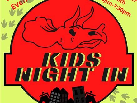 Dino-mite! Kids Night In with Cafe Monet Kids: Austin