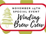 Winding Brew Crew Special Event 11/15