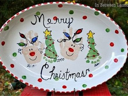 Daycare Holiday Handprint or Footprint