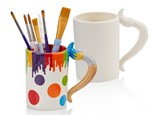 PoGo Kits (Paint Your Own Pottery ToGo!): Paint Brush Mug