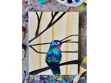 Hummingbird Paint Class