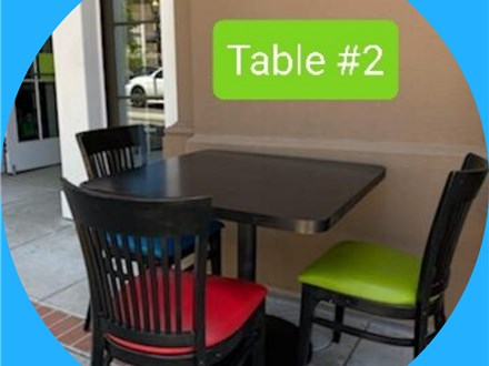 Table Reservation #2 (Out door)