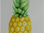Pineapple Watercolor Tutorial Online