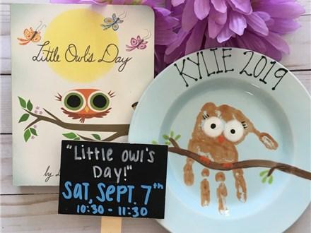 "Pre-K Storytime ""Little Owl's Day!"""