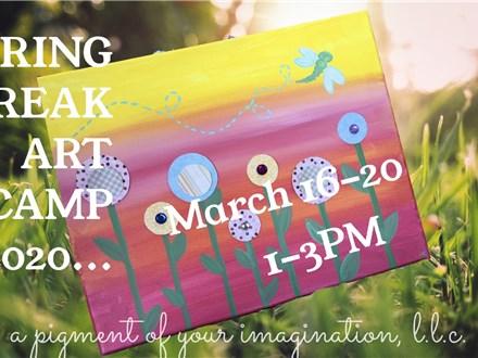 Spring Break Art Camp 3/18/2020  Wednesday