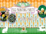 Egg Painting Party! March 24, 2018 @ 9am