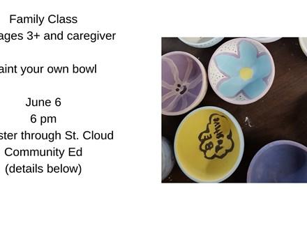 Family Class-Ice Cream Bowl