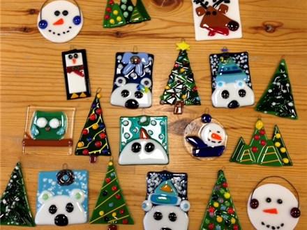 Glass Fused Ornaments Nov 17