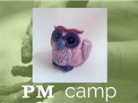 Owl Planter (Animal Planet) July 11th, Afternoon Camp 2017