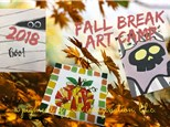 Fall Break Art Camp, October 17, 2018
